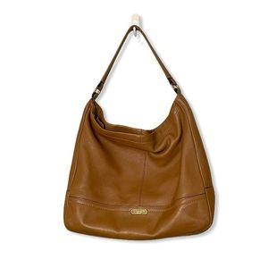 COACH Shoulder Bag Park Hobo British Tan